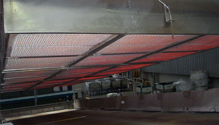 mir steel belt dryer view 6