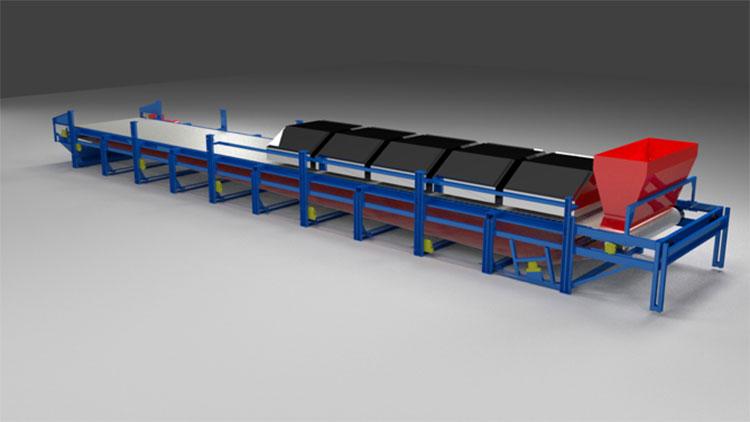 mir steel belt dryer view 4