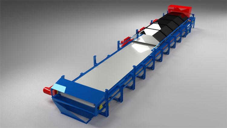 mir steel belt dryer view 3